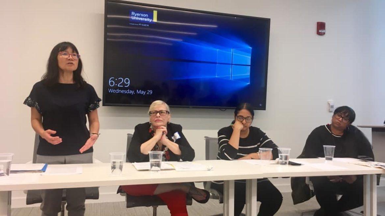 会议讨论法援的削减,如何影响有色族裔社区,以及你可以做什么